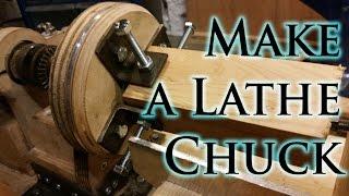 getlinkyoutube.com-How to Make a Lathe Chuck