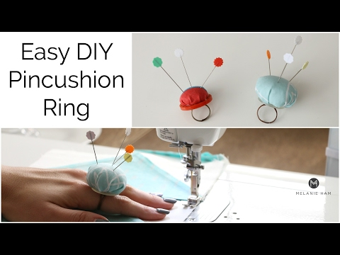 Easy Pincushion Ring Tutorial