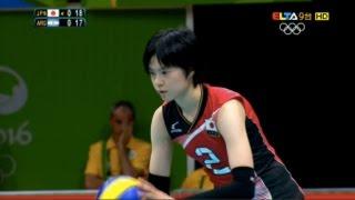 getlinkyoutube.com-宮下遥 Haruka Miyashita Highlight in 2016 Rio Olympic Women's volleyball