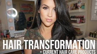getlinkyoutube.com-Hair Transformation: Hair Color + Current Hair Care Products