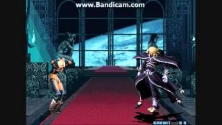 getlinkyoutube.com-King of Fighters 2001 - Angel VS Zero & Igniz