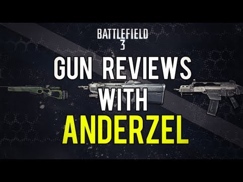 Battlefield 3 Online Gameplay - F2000 - Weapon Review LIVE COM Part 6