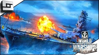 World Of Warships - ENEMY BATTLESHIP DESTROYED | Sl1pg8r