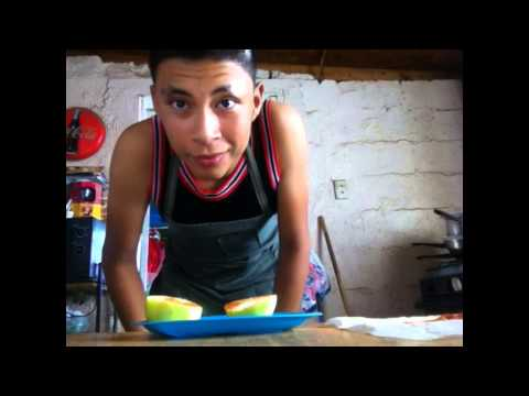 Cocinando con Marcos (manzana con Chile)