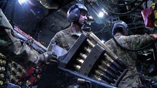 getlinkyoutube.com-Intense Action Inside The AC-130 Gunship