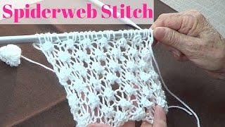 getlinkyoutube.com-Spiderweb Stitch