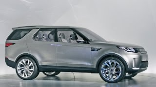 getlinkyoutube.com-Land Rover Discovery Vision Concept - New York Auto Show 2014