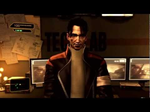 Deus Ex: Human Revolution: Walkthrough - Part 2 [Mission 1] - Back In The Saddle (Gameplay)