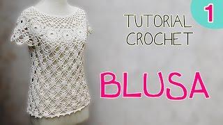 getlinkyoutube.com-Tutorial blusa en crochet (1/2)