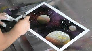 getlinkyoutube.com-Amazing Speed Art Spray Painting