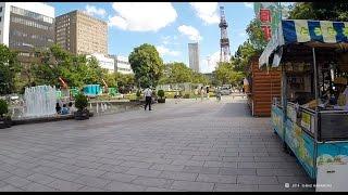 【ママチャリでGO!】 さっぽろ大通公園と周辺  Sappro Oodoori Park