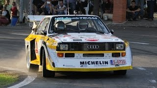 getlinkyoutube.com-Rally Legend 2014 - Group B: Audi S1, Delta S4, 205 T16, etc