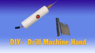 getlinkyoutube.com-How To Make Drill Machine hand at home (simple)