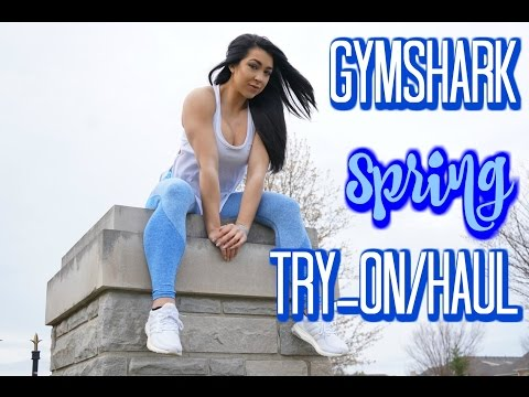 GYMSHARK SPRING HAUL/TRY-ON // Mini Physique Update