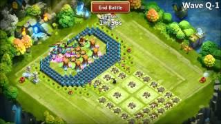 getlinkyoutube.com-Castle Clash Starting the TH21 Build 072815