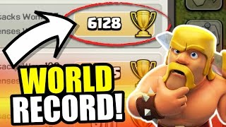 getlinkyoutube.com-WORLD RECORD!! 🔥 Town Hall 10 Close To 6000 Trophy's!!! 🔥 Clash Of Clans