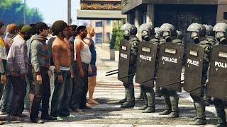 getlinkyoutube.com-RIOT POLICE!! (GTA 5 Mods)