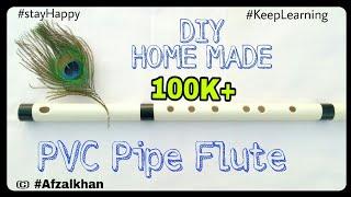 DIY Homemade PVC Pipe Flute | Transverse Flute