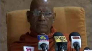 Sobitha Thero clarifies reasons behind Tathana Thero's move