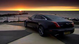 getlinkyoutube.com-Race with the Sunrise - The New Jaguar XJ - Top Gear - BBC