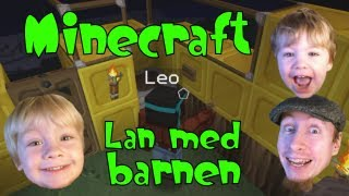 getlinkyoutube.com-Minecraft - LAN med barnen med SweDuck