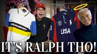 $500 of Polo Thrifted for $30! Huge Vintage Ralph Lauren Haul!