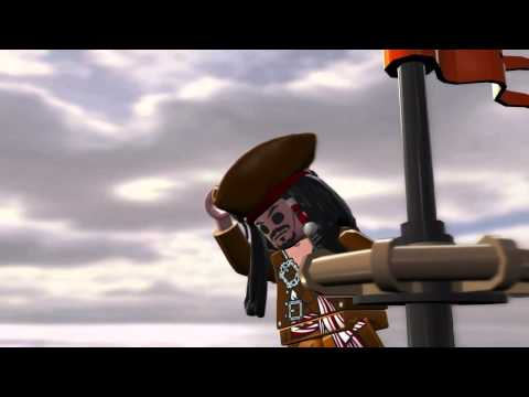LEGO Pirates of the Caribbean Jack Sparrow Teaser