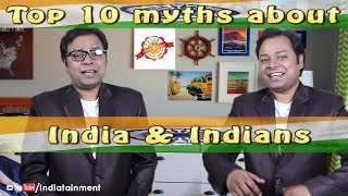 getlinkyoutube.com-Top 10 Myths about India and Indians | Doubletainment