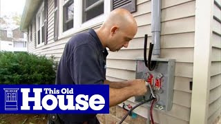 getlinkyoutube.com-How to Upgrade an Electric Meter to 200-Amp Service - This Old House