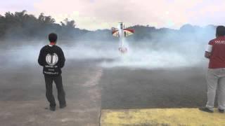 getlinkyoutube.com-Yak-54 Crash Giant RC 3D- ACIDENTE AEROMODELO