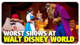 WORST Shows at Walt Disney World | Best and Worst | 06/20/18