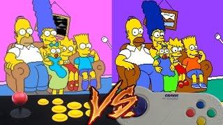 getlinkyoutube.com-Arcade Vs PC - The Simpsons Arcade Game