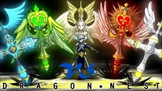 Dragon Nest PvP Епископ vs Следопыт