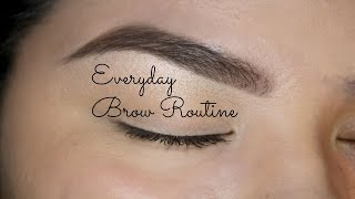 getlinkyoutube.com-Everyday Brow Routine - Drugstore Edition