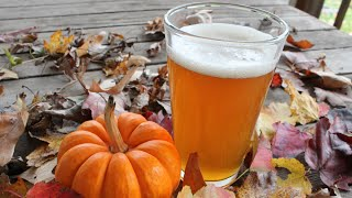 getlinkyoutube.com-My First Home Brew Beer ~ Pumpkin Ale