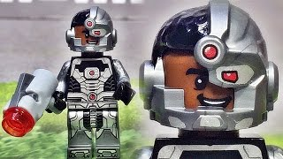 getlinkyoutube.com-decool 사이보그 레고 짝퉁 슈퍼히어로즈 미니피겨 Lego knockoff cyborg super heroes minifigure