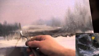 "getlinkyoutube.com-LIBERO! Full video ""paesaggio invernale"" dal artista Igor Sakharov"