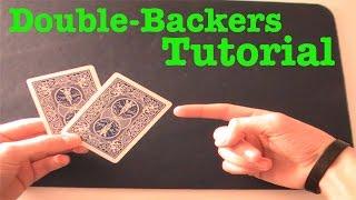 getlinkyoutube.com-Making Gimmick Cards #1 - Double backers