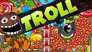 getlinkyoutube.com-LATE GAME WITH A TROLL ::  Bloons TD Battles  ::  2 TIMES IN A ROW!