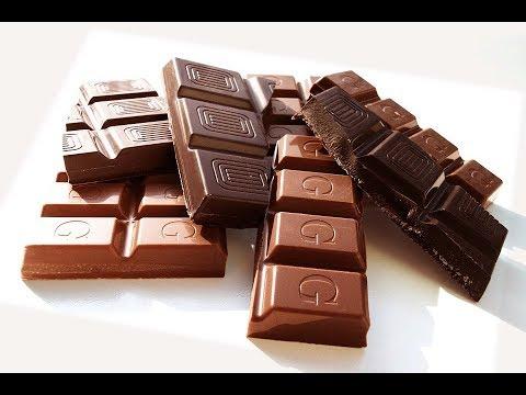 اسهل طريقه لتقطيع الواح الشوكولاته
