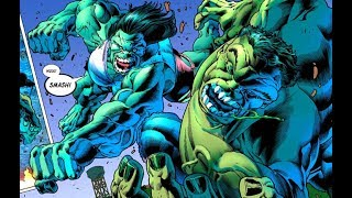 IMMORTAL HULK Destroys Thor , Ghost Rider , Iron Man , Savage She-Hulk & Black Panther width=