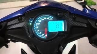 getlinkyoutube.com-speedometer Koso RX2n  8 color