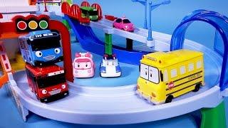 Tayo the little bus Poli Track play Set toy 꼬마버스 타요 트랙놀이