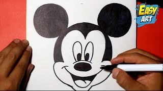 getlinkyoutube.com-how to draw mickey mouse  disney -   como dibujar a mickey mouse