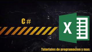 Importar Datos de excel a C#