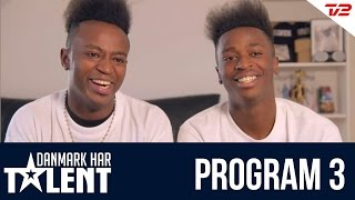 getlinkyoutube.com-Nini Brothers - Danmark har talent - Program 3