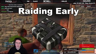 getlinkyoutube.com-Rust - Raiding LQM Early