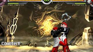 getlinkyoutube.com-Iori Orochi VS Element-I