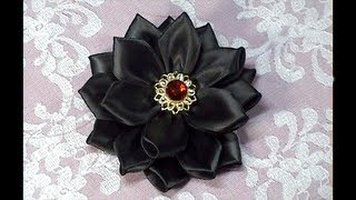 DIY, How To Make Kanzashi Flower, How to do, Tutorial, DIY
