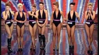 getlinkyoutube.com-BRITAIN'S GOT TALENT 2011 - GIRLS ROC (AN ATTRACTIVE DANCE ACT WITH A DIFFERENCE!)